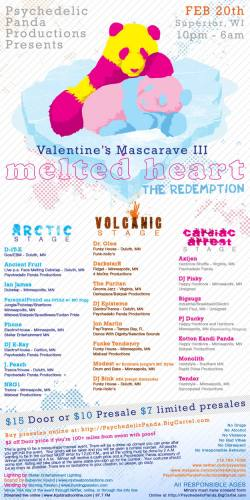 Valentine's Mascarave III - Melted Heart