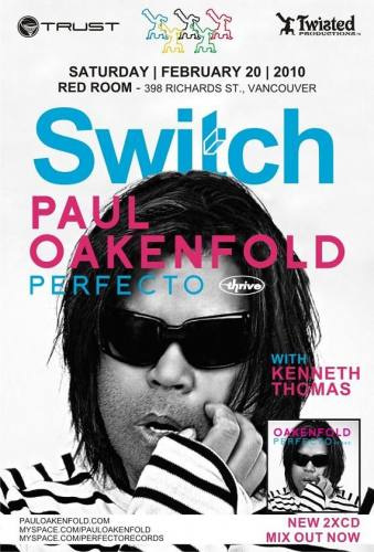 Paul Oakenfold at Switch @ The Red Room