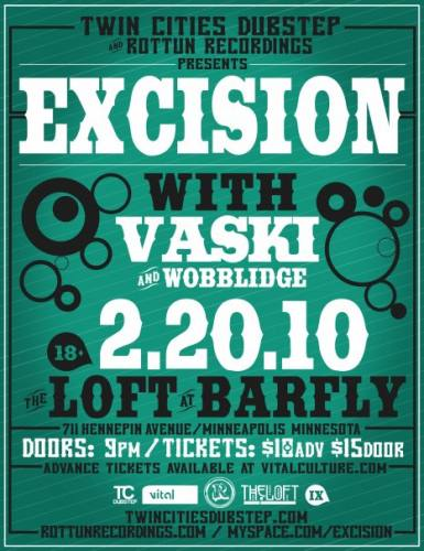 Twin Cities Dubstep presents Excision