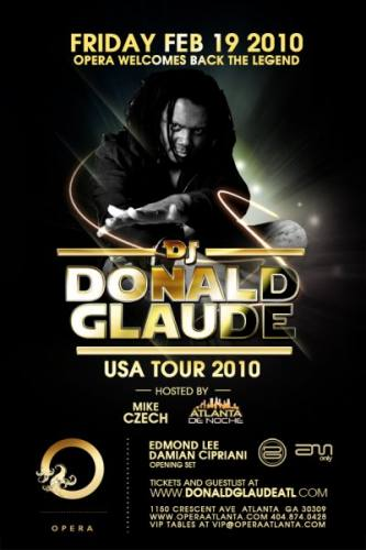 Donald Glaude @ Opera
