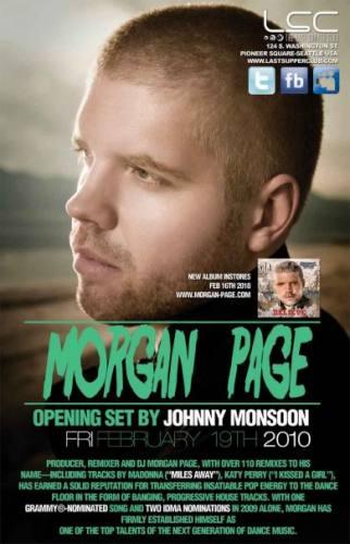 Morgan Page @ The Last Supper Club