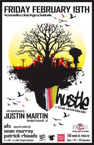 HUSTLE - 1 Year Anniversary w/ Justin Martin