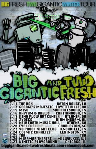 Big Gigantic & Two Fresh @ New Earth Music Hall