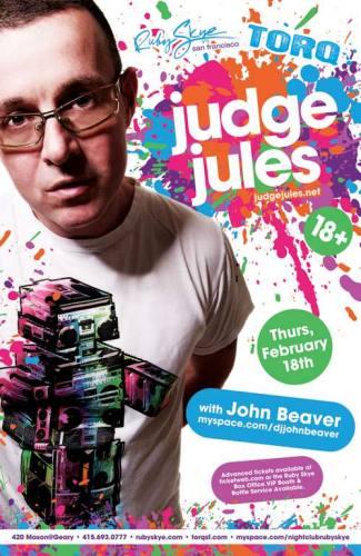 Judge Jules @ Ruby Skye