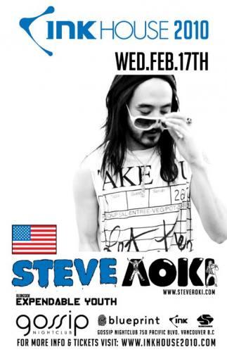 INK HOUSE 2010: STEVE AOKI