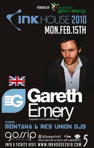 Gareth Emery @ Gossip