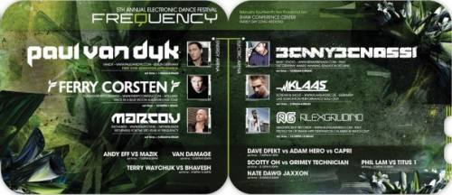FREQUENCY - THE 5TH ANNUAL ELECTRONIC DANCE FESTIVAL