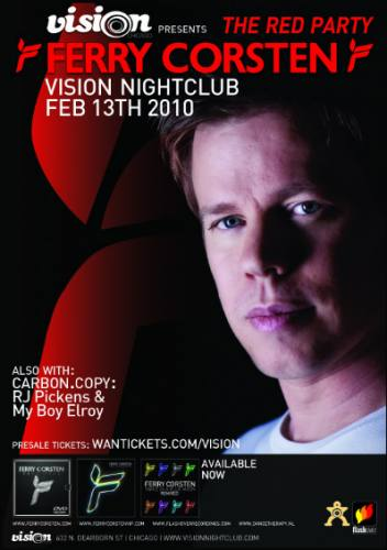 The Red Party: Ferry Corsten