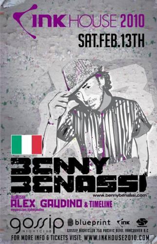 INK HOUSE 2010: BENNY BENASSI