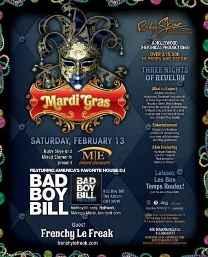 Mardi Gras: Bad Boy Bill