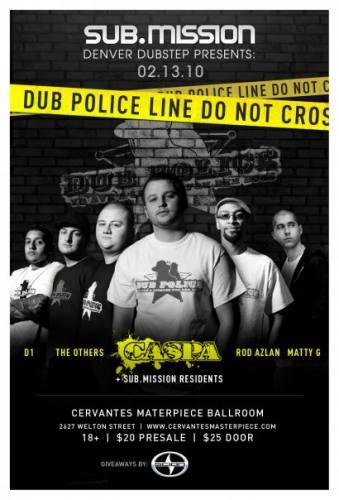 The Dub Police Tour w/ Caspa