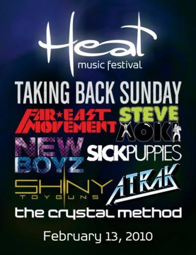 2010 Heat Music Festival
