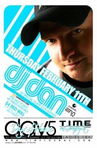DJ Dan @ Time Lounge