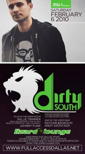 Dirty South @ Lizard Lounge