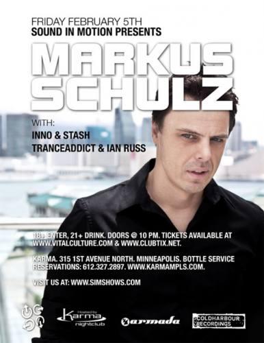 Markus Schulz @ Karma Nightclub