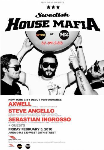 AREA @ M2 with Swedish House Mafia