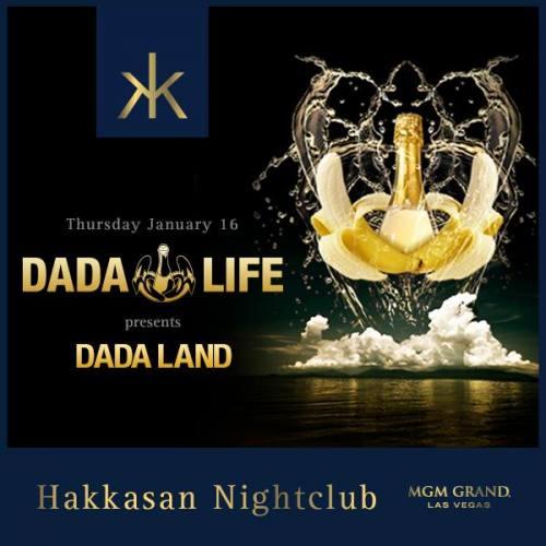 Dada Life @ Hakkasan Las Vegas (01-16-2014)