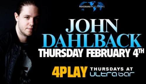 4PLAY @ Ultrabar w/ John Dahlbäck