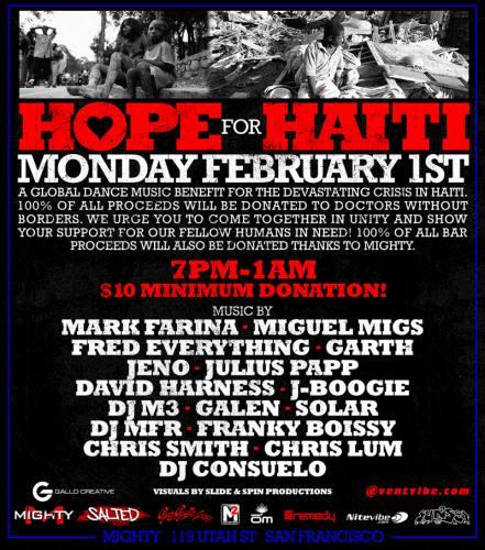 Hope for Haiti - A Global Dance Music Benefit