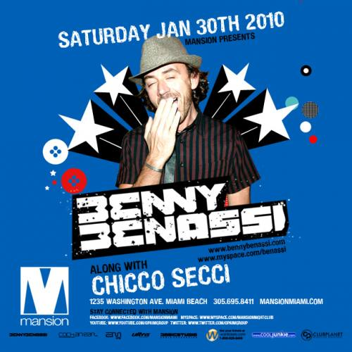 Benny Benassi at Mansion