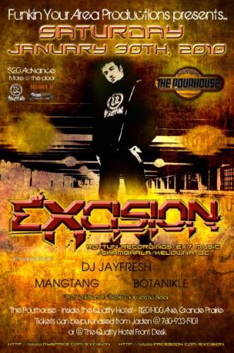 Funkin Your Area Productions presents EXCISION