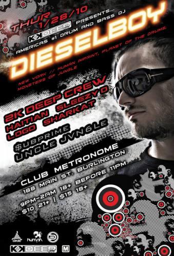 Dieselboy @ Club Metronome