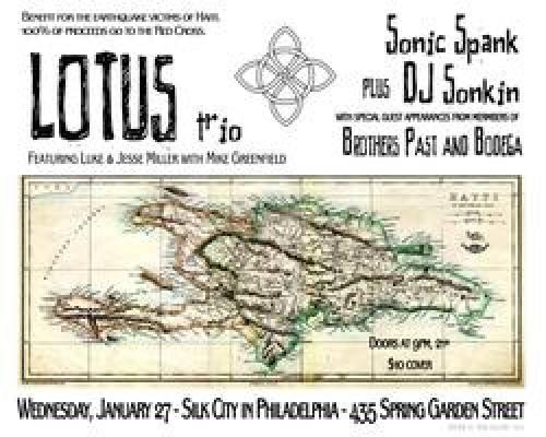 Haiti Benefit with Lotus Trio