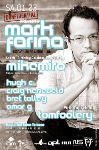 Confidential Presents...Mark Farina