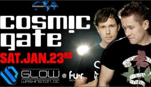 GLOW Saturdays at FUR Nightclub: Cosmic Gate