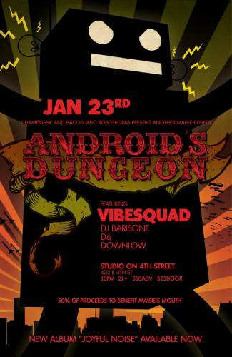 Androids Dungeon featuring VibeSquaD