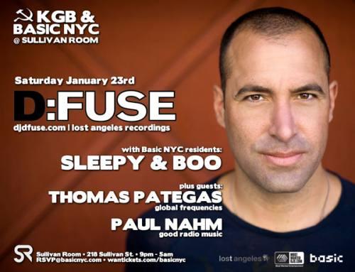 KGB & Basic NYC Presents D:FUSE