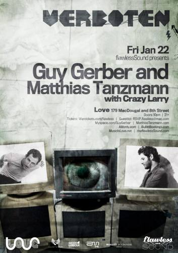 Verboten with Guy Gerber and Matthias Tanzmann