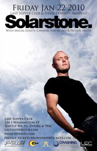 Solarstone @ The Last Supper Club