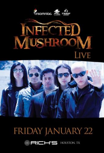 INFECTED MUSHROOM @ RICH'S