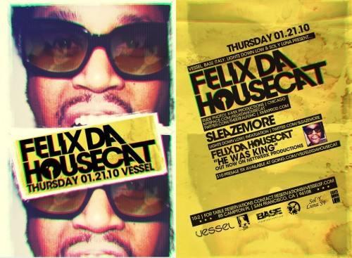 Felix Da Housecat @ Vessel