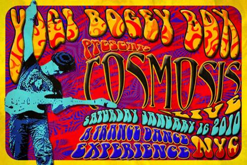 YogiBogeyBox presents COSMOSIS Live and RASTALIENS!