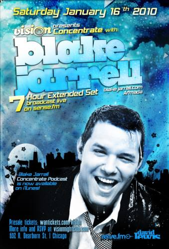 Vision presents Concentrate with Blake Jarrell