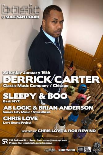 Basic NYC presents Derrick Carter