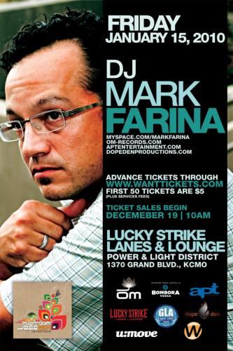 Lucky Strike and U:Move Presents DJ Mark Farina