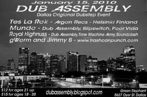Dub Assembly featuring Tes La Rok