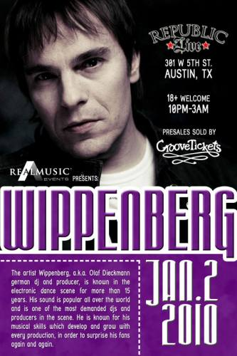 WIPPENBERG AT REPUBLIC LIVE
