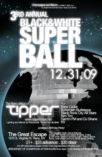 THE 3RD ANNUAL BLACK AND WHITE SUPERBALL