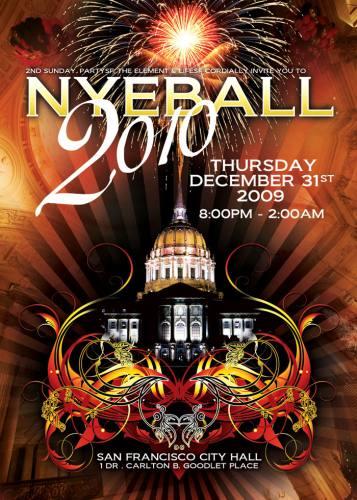 NYE BALL 2010