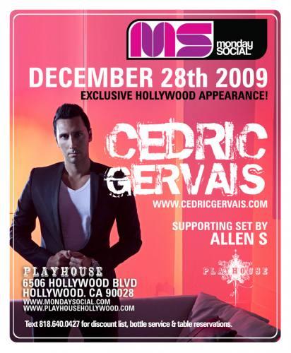 MNS presents Cedric Gervais