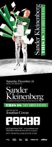 Sander Kleinenberg's Birthday Bash
