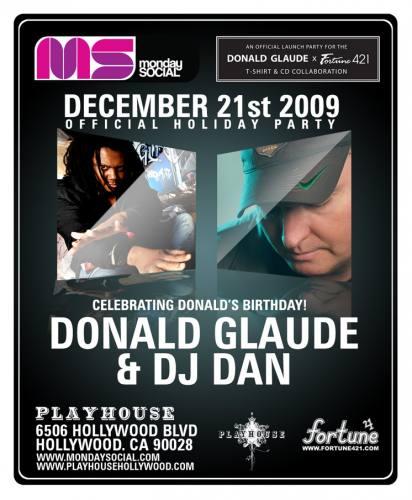 MNS presents Donald Glaude and DJ Dan