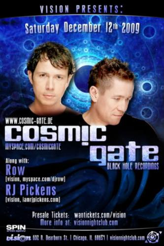 VISION PRESENTS: COSMIC GATE