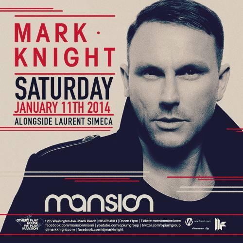 Mark Knight @ Mansion (01-11-2014)