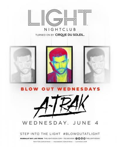 A-Trak @ Light Nightclub (06-04-2014)