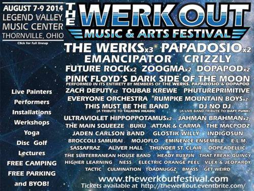 The Werk Out Music & Arts Festival 2014